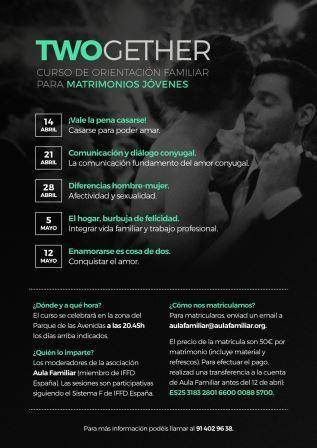 Curso para matrimonios jóvenes