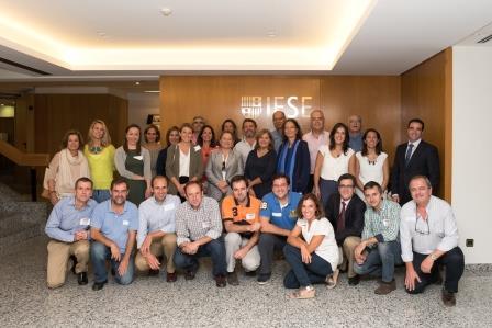 Inauguración del curso en el IESE