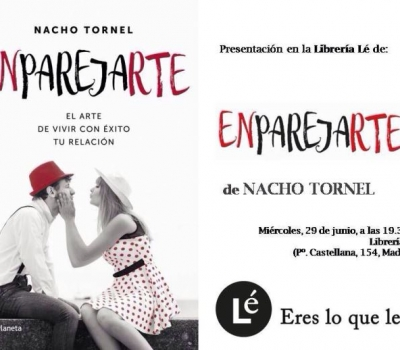 Presentación de Enparejarte de Nacho Tornel