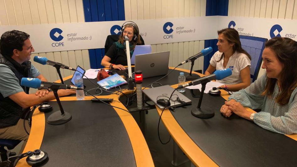 Entrevista en Herrera en COPE Más